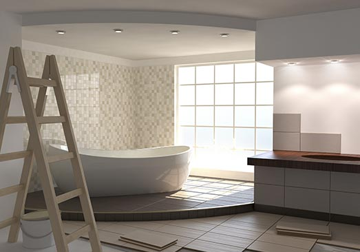 sol salle de bain à Nîmes